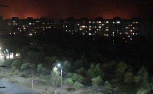 Огонь подходит к Северодонецку с нескольких сторон. ФОТО