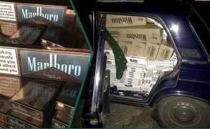 Таможенники забрали сигареты на сумму 800 тыс. рублей и автомобиль в Красном Луче
