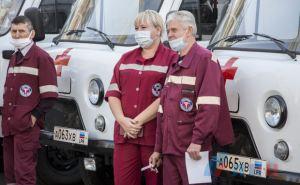 В Луганске закупили 25 автомобилей скорой помощи для Центра медицины и катастроф. ФОТО