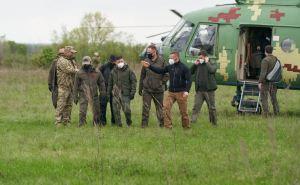 Зеленский прибыл в Донецкую область, завтра приедет в Луганскую