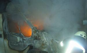 Две иномарки сгорели ночью в Северодонецке