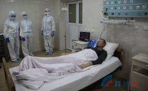 Из-за проблем с подачей кислорода в Луганской горбольнице №4, всех больных на ИВЛ перевели на Острую Могилу в ЛРКБ. ФОТО