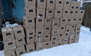 Не далеко от границы сРФ изъяли контрабандные сигареты на сумму более чем 2 млн. рублей. ФОТО
