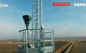 Стокилометровый участок украино-российской границы в Луганской области оборудовали интеллектуальной видеосистемой. ВИДЕО