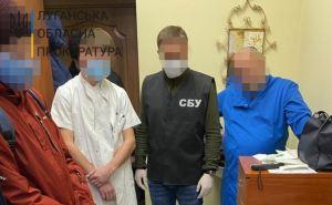 Врач луганского онкологического диспансера вымогал у больного деньги за операцию. ФОТО