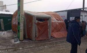 На КПВВ при въезде на подконтрольную территорию Украины будут проводить бесплатное тестирование на COVID-19