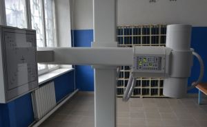В центральную больницу  Лутугино передали новый цифровой флюорограф