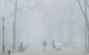 До 1декабря Луганск погрузится в туман