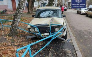 Пьяный водитель «Жигулей» протаранил три иномарки в Рубежном. ФОТО