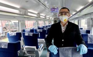 Во время локдауна в Луганской и Донецкой области поезда отменять не будут