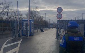 Со стороны Луганска на КПВВ «Счастье» ведут работы по обустройству