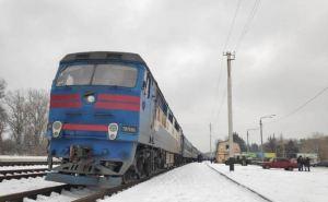 Пассажирский поезд «Лисичанск— Хмельницкий» возобновил свое движение