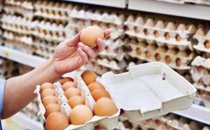 В Луганске ввели запрет на повышение цен на яйца куриные