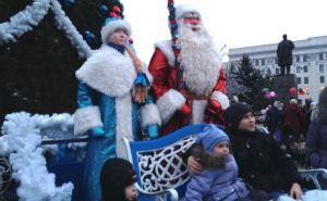 В Луганске запретили проведение новогодних праздников для детей в помещениях