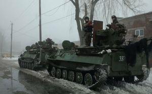 На улицах Станицы Луганской замечена бронетехника