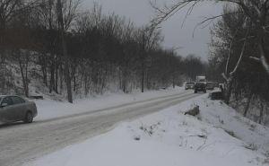 В Луганской области водителям рекомендуют не выезжать, ожидается сильный снегопад