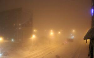 Сильный туман и гололед ожидаются в Луганске ночью и утром 14января. Объявлено штормовое предупреждение