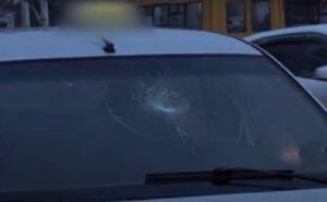 В Луганске на Оборонной женщину сбили прямо на пешеходном переходе. ВИДЕО