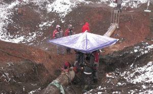 Появились фото с места взрыва газопровода у Лутугино. К вечеру планируется полностью восстановить газоснабжение Лутугинского района