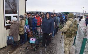 За декабрь КПВВ «Станица Луганская» пересекли более 46 тысяч человек.