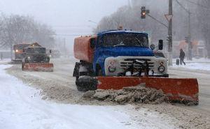 Донбасс засыпало снегом. В Донецке и Луганске— снежные заносы. ФОТО