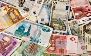 Курс валют в Луганске на 22января