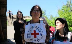 Руководитель миссии Красного Креста в Украине посетила Луганск и обсуждала вопрос по КПВВ в Счастье