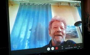 Известный детский писатель Андрей Усачев провел онлайн встречу с юными читателям из Луганска. ФОТО