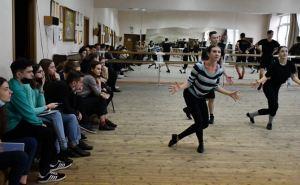 Открытый урок для студентов-хореографов ЛГАКИ прошел в Луганской филармонии