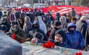 В центре Луганска прошли многочисленные митинги. ФОТО
