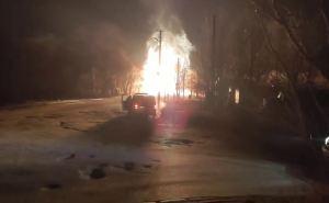 Взрыв и пожар на газопроводе в Луганске может принести городу серьезную проблему