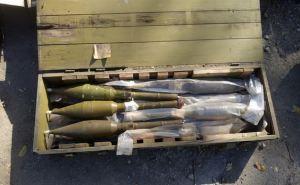 В Луганске в заброшенном здании обнаружили крупный тайник с оружием и боеприпасами