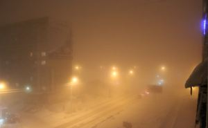 В Луганске ночью и утром 3марта мокрый снег, туман, гололед и усиление ветра
