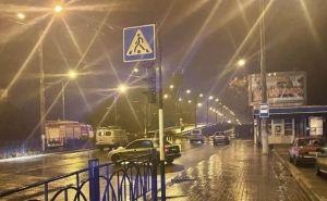 Вчера вечером в Луганске закрыли для проезда путепровод на улице Советской