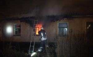 При пожаре в Луганске погиб человек