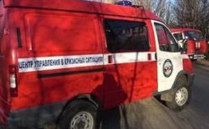 Рано утром в Луганске произошел взрыв в Каменнобродском районе