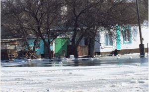 В Донецке затопило жилые дома— прорвало дамбу