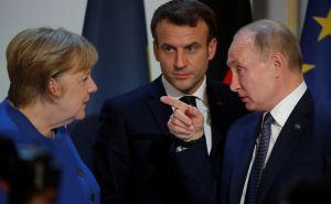 Путин, Меркель и Макрон обсудили проблему Донбасса. Зеленского не позвали