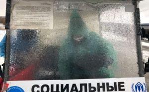 На КПВВ «Станица Луганская» за 2 года перевезли более 210 тысяч маломобильных людей с помощью электрокаров