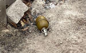 В Луганске на оживленной улице нашли гранату
