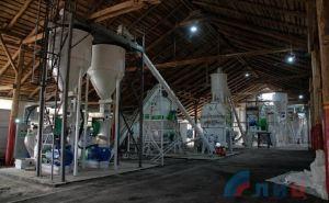Комбикормовый завод, работающий в Лутугино, выйдет на плановую мощность в мае.