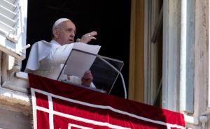 Папа Римский помолился о жителях Донбасса