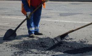 На прошлой неделе в Луганске отремонтировали дороги на 13 улицах