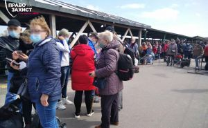 Работа КПВВ «Станица Луганская» возобновлена. Пропуск осуществляется в обе стороны. ФОТО