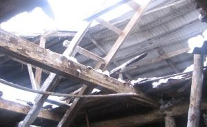Под Луганском обрушился дом, погибла женщина