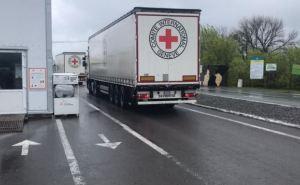 Красный Крест доставил более 100 тонн стройматериалов на оккупированный Донбасс