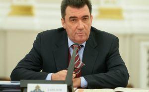 Данилов анонсировал заседание СНБО, которое будет посвящено безопасности приграничных областей