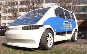 В ВНУ им. Даля разработали первый украинский электрокар ФОТО
