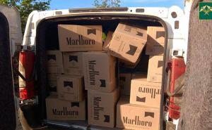 Через закрытую границу между Луганском и Донецком провезли контрабандных сигарет на миллион рублей. ФОТО