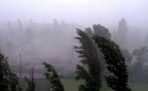 Сегодня в Луганске сильный дождь, гроза, усиление ветра до 65 км в час